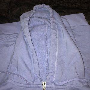 PINK zip up hoodie